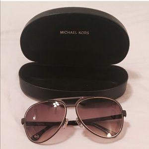 Michael Kors Aviator glasses***purple/pink frame